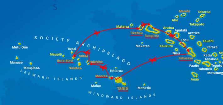 French Polynesia größer