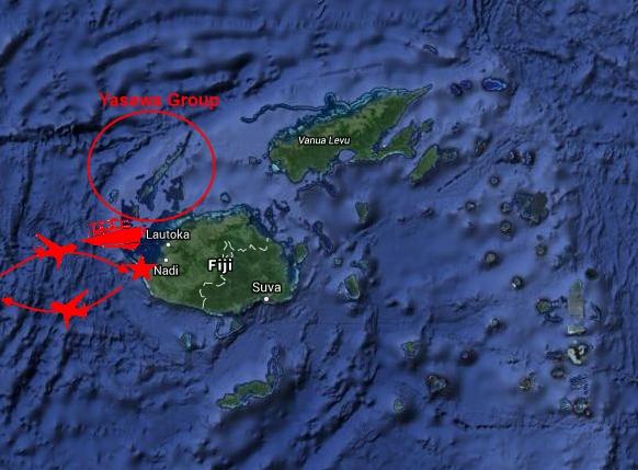 Map Fiji groß
